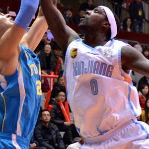 Andray Blatche Basketball in China