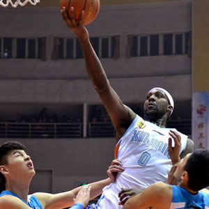 Andray Blatche NBA player in China