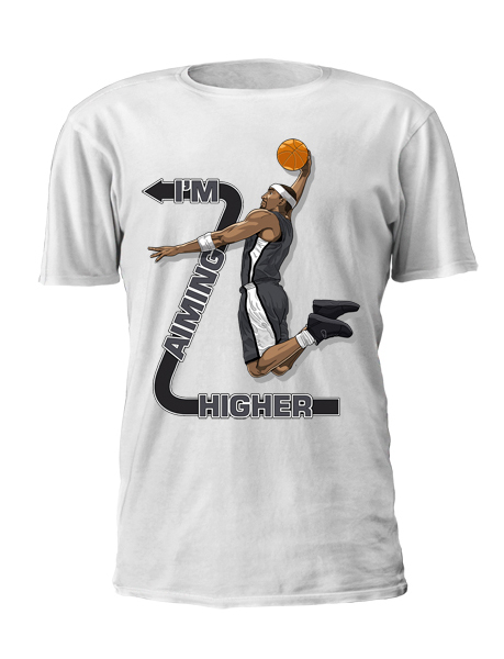 Andray Blatche T-Shirt Front