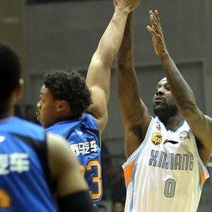 Andray Blatche playing basketball Sichuan