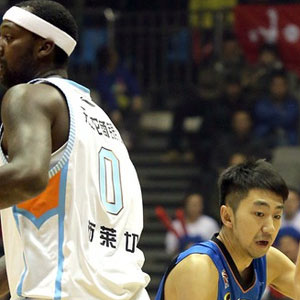 Andray Blatche hoops in China